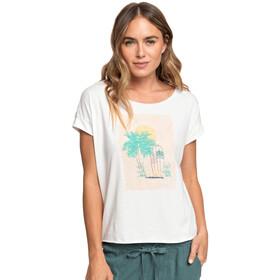 Roxy Sweet Summer Night B T-Shirt Femme, snow white